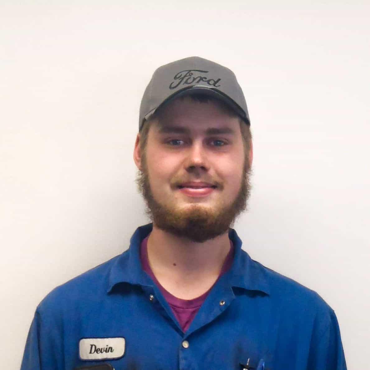 Devin Penner : Apprentice Technician